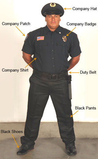 Black Shoes For Security Guards